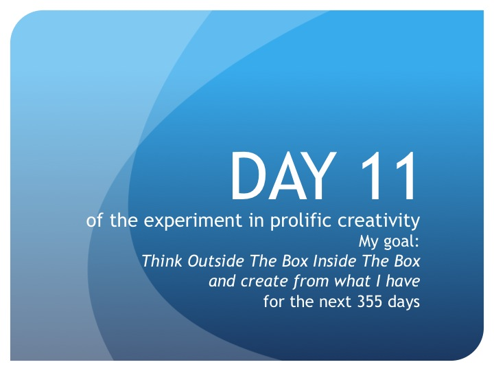 Day 11:  Why 3?