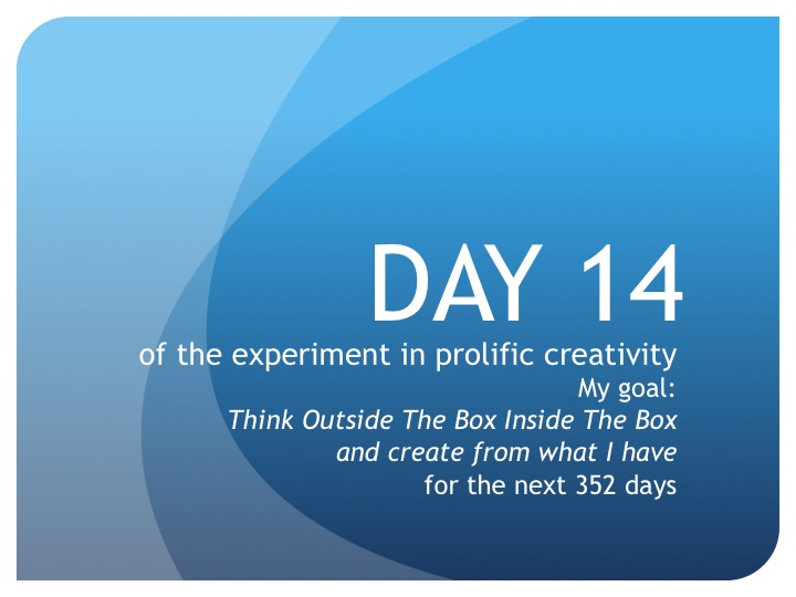 Day 14:  The Time Paradox