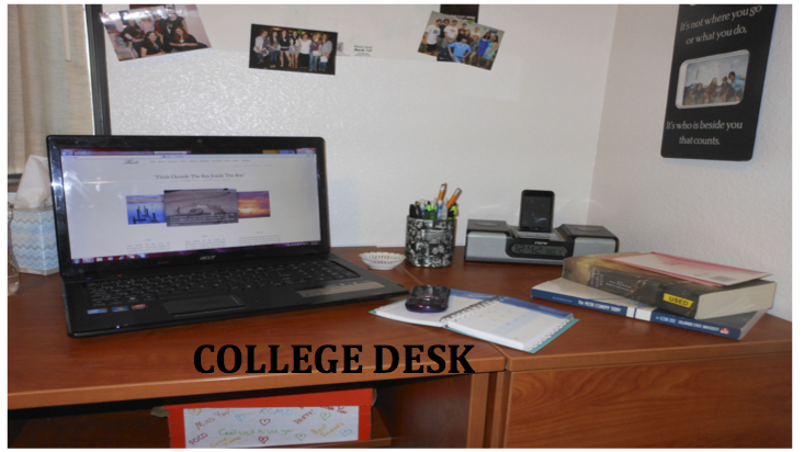 College Desk Column: The College Student's Balancing Act