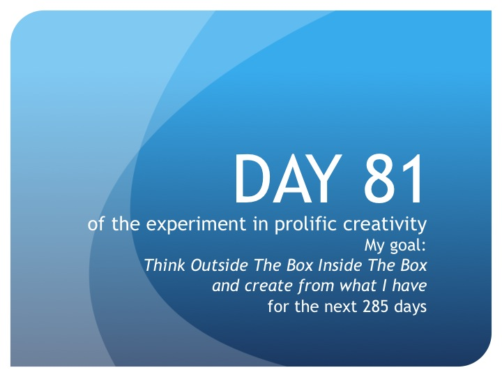 Day 81:  13 words