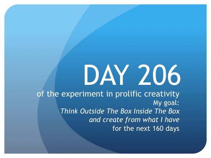 Day 206: Procrastination is making me wait!