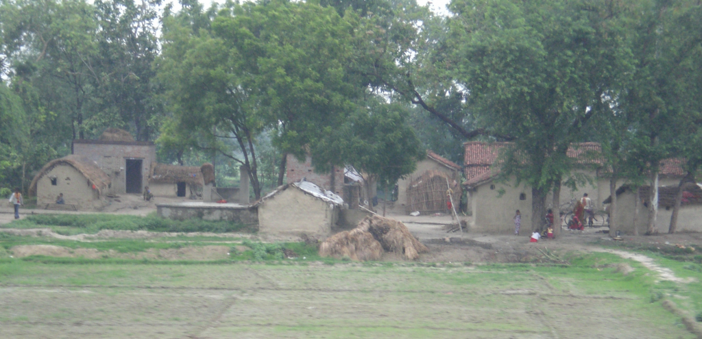 A small village in India