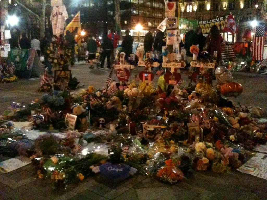 Boston Marathon Flowers