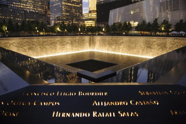 9/11 Memorial. Photo: courtesy NY Daily News.
