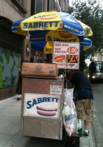 Hot Dog and Pretzel Vendor