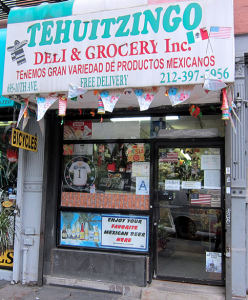 Tehuizingo Deli and Grocery. Photo: courtesy of Animal New York.