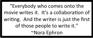 Nora Ephron on writing