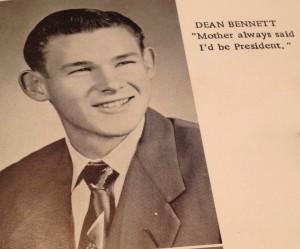 Senior Class President - 1955