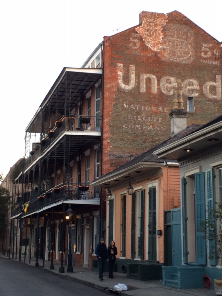 Wandering the Streets of New Orleans
