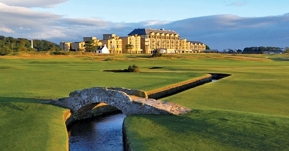 Old Course Hotel - St. Andrews, Scotland. Photograph courtesy of Management.