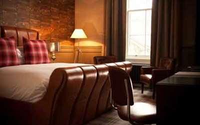 Hotel Du Vin - St. Andrews, Scotland. Photograph courtesy of Management.