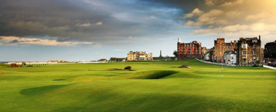 The Old Course - St. Andrews, Scotland