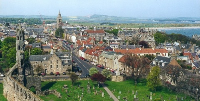St. Andrews, Scotland - From St. Rules' Tower