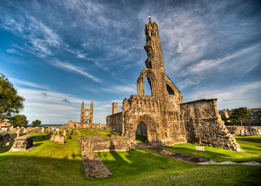 St. Andrews Cathedral Ruins & Cemetery