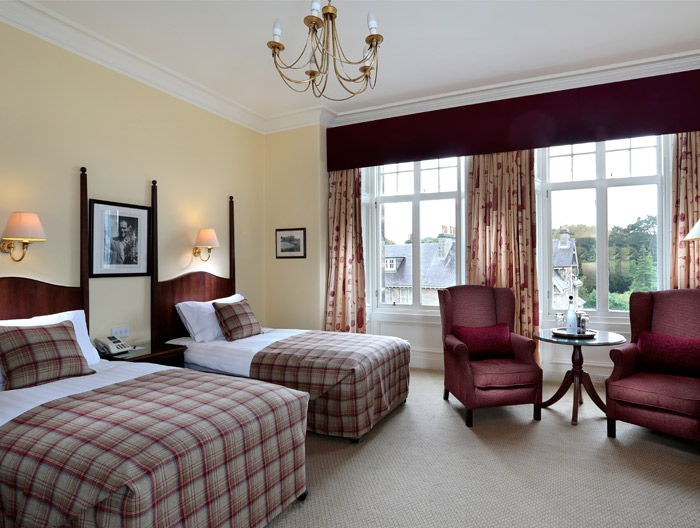 Macdonald Rusacks Hotel - St. Andrews, Scotland. Photograph courtesy of Management.