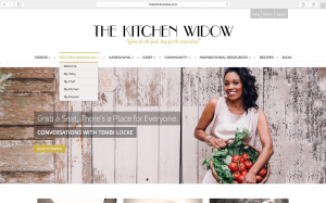 TheKitchenWidow.com is Tembi's way to give-back.
