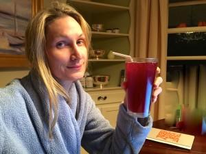 Cranberry cheers!