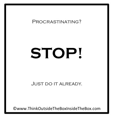 Daily Dose - motivating 2015 - procrastination