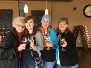 Wine Tasting with my family in Osceola Iowa